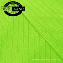 Tissu interlock aiguille 100% polyester à séchage rapide