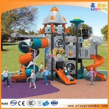 Attractive rocket outdoor homemade playground equipment