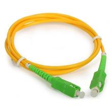 Cordon de correction fibre optique Sc / APC