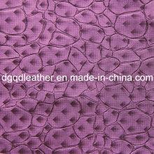 Moda pedra padrão de couro móveis de decoração (qdl-51385)