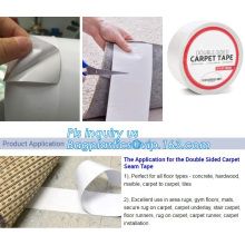 Waterproof Sticky Adhesive Carpet Double Side Tape, Double Sided Cloth Carpet/Floor/Rug Tape, Tape With Dispenser Scoth Tape