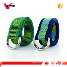 High quality canvas sport belt