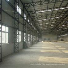 Stahlbauwerk für Werkstatt