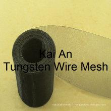 DIA 0.1 mm 30 mesh Tungsten Mesh / Tungsten Weave Mesh / Tungsten Screen ----- 35 ans d'usine