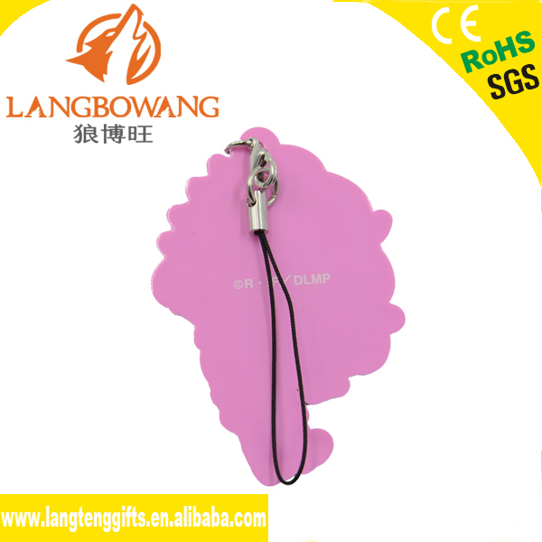 Plastic key chain wholesale straps