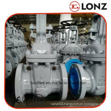 API Carbon Steel Wcb Flanged Rising Stem Gate Valve