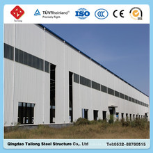 Light Prefabricated Steel Frame Warehouse