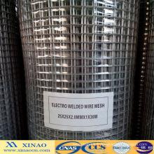 Maillage métallisé soudé électro-galvanisé de 1 po (XA-418)