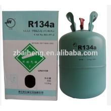 Gas refrigerante HFC-134a / R134a empacado en 30 lb 13.6kg
