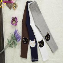 Neuestes Design Trendy Mädchen Mitte Taille Lounge Hosen mit niedlichen Animal Print