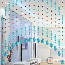 Rideau de perles de style coloré pour cuisine