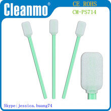 polyester Swabs rectangle head for industrial CM-PS714 ( Factory Direct Sales )