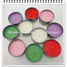 Velas promocionales velas de luz de té