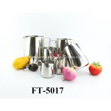 Stainless Steel with Handle Milk Cup