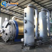 Pyrolysis Oil Boiler Plastic Recycling Line