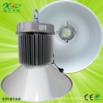 Lumière industrielle légère élevée de la baie 150W LED élevée avec la puce de Bridgelux
