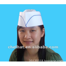 paper forage hat(single blue)