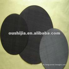 Hochwertiges schwarzes Eisendrahtgeflecht (direkt ab Werk)