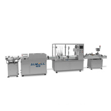 Automatic glass bottle filling and capping machine for perfume, hand sanitizer filling line price