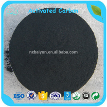Le carbone activé par poudre de charbon noir de valeur élevée d'iode dans la production chimique
