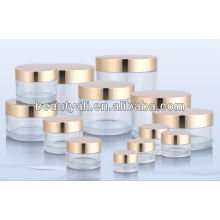 3ml,5ml,10ml,15ml,20ml,30ml,40ml,50ml,60ml,100ml,200ml,240ml,300ml,350ml Transparent PETG Jars with electric plating cap