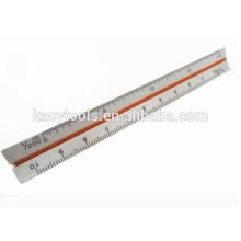 Règle d'échelle de métal en aluminium de 6 po
