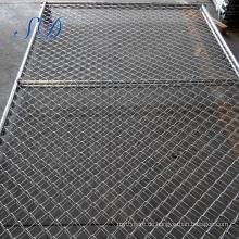 Einfaches installiertes Kettenglied-Netz benutzte vorübergehenden Zaun für USA