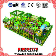 Galvanized Steel PVC Plastic Jungle Theme Playground Indoor for Sale