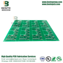 Carte PCB FR4 Tg135 de couches de l'étain 2 d'immersion de carte PCB de coût bas