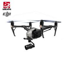 Chegada nova DJI Inspire 2 Fly Profissional Combo rc camera drone com 20.8MP câmera wi-fi Spotlight pro