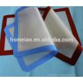 Легко очищаемый силиконовый противень для выстилания многоразового гриля FDA и стекловолокна Изготовленные на заказ противоскользящие силиконовые жаропрочные противокоррозионные маты