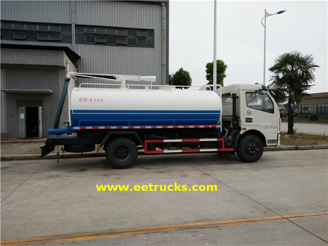 Sewage Cleaner Trucks