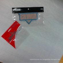 Bolsas de embalaje plástico de gancho de pescado