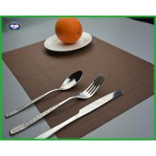 Mesa de PVC de alta qualidade variedade de cores Placemat