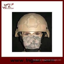 Capacete tático Mich 2000 réplica com Nvg Mount Frame capacete