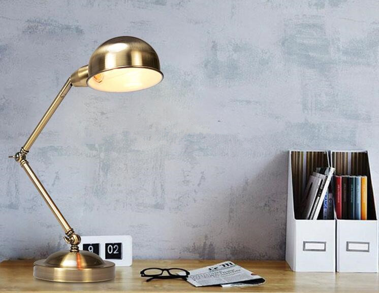 Satin Bronze Desk Lamps