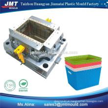 preço de fábrica de plástico da alta qualidade produtos domésticos cesto de lixo plástico do molde