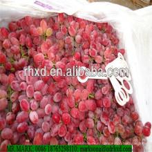 Пампа оригинальных бессемянный виноград красный глобус винограда, поступающего с высоким качеством