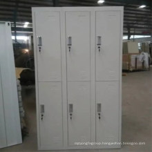 High quality office furniture 6 doors steel locker cabinet