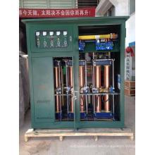 2015 Hot SBW 20kVA a 1000kVA Trifásico de alta potencia Sub-tono de compensación automática Servo Motor Estabilizador de voltaje Yueqing