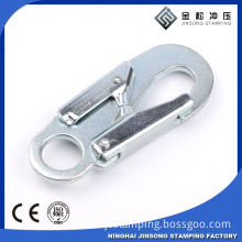 safety climbing metal stamped swivel snap hook climbing snap hook for luggage parts