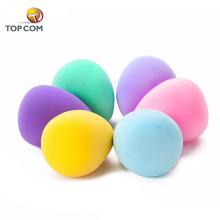 Angepasste eiförmige kosmetische Puderfarbe Mini-Hauch Make-up Schwamm