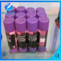 Горячие продажи фиолетовый клей-карандаш, исчезающий цветной клей-карандаш