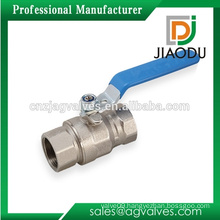 best sale factory price customized 600 1000 wog water brass key lock ball valve