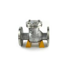 Válvula de retención de materiales ptfe de acero al carbono de 3 pulgadas estándar