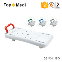 Topmedi TBB7931 Lightweight Waterproof Plastic Bath Board with Handle