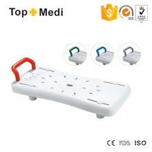 Topmedi TBB7931 Легкая водонепроницаемая пластиковая доска для ванны с ручкой
