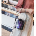 Vattentät Transparent PVC Tote Clear Crossbody Shoulder Bag