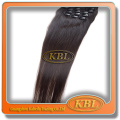Noble quality clip hair extensions afro curl can restyle or dyed