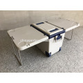 Outdoor Camping Picnic 28L Multi Function Rolling Cooler with Table and 2 Chairs